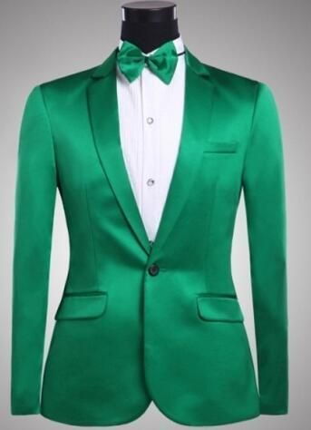 jacket+pants)Male full dress suits prom outfit groom wedding ...