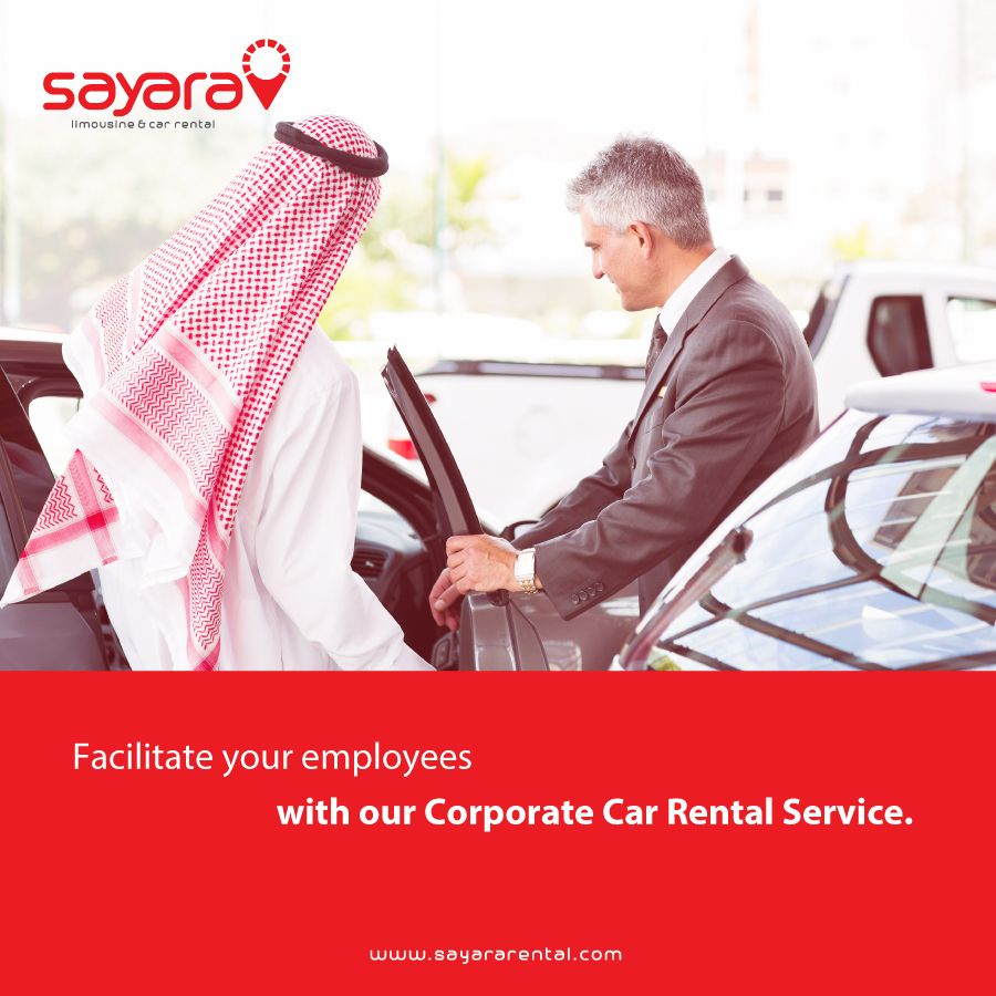 Benefit from our corporate rental offers when renting a car for corporate events, planning to travel for work or arranging for transportation for your staff/clients. #SayaraRental #RentACar #BookARide  To know more, visit: https://goo.gl/vBnDR1  For Bookings:  Call us now on: +971600522200 Write to us at info@sayararental.com Apply on website: www.sayararental.com  Terms and conditions apply!