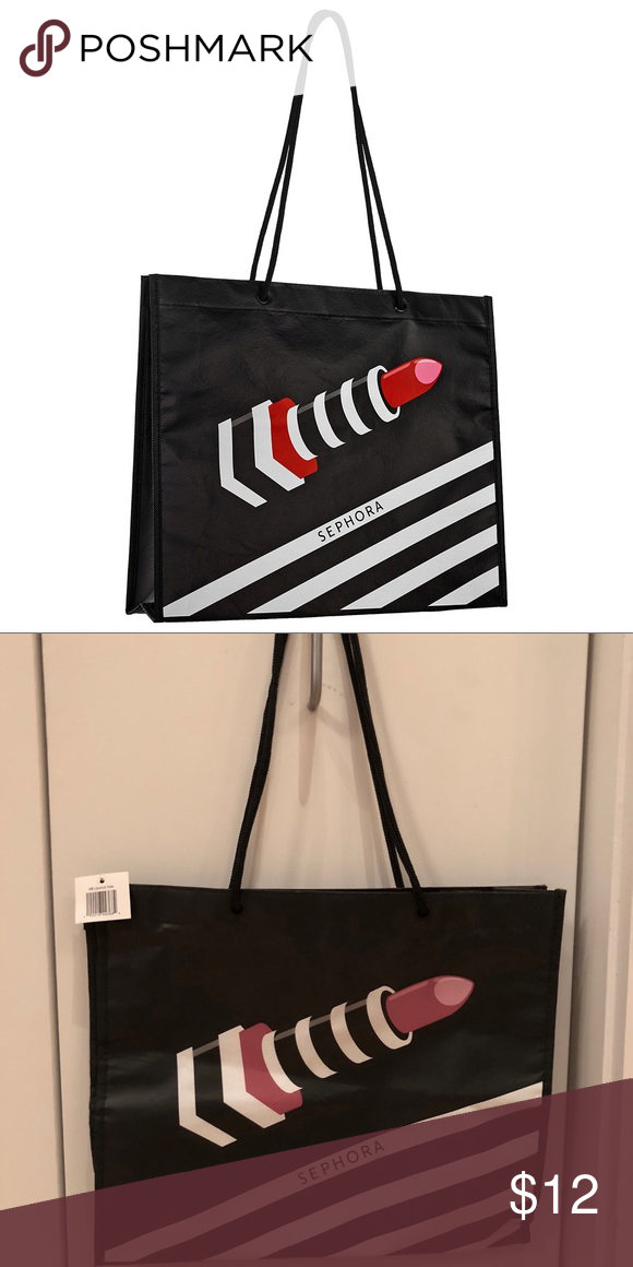 Sephora Reusable Eco Ping Tote Gift Bag Vib Friendly Given To Vip Customers Brand New With Tags