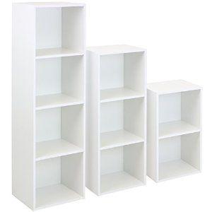 Hartleys White Cube Unit - Choice of Size: Amazon.co.uk: Kitchen & Home