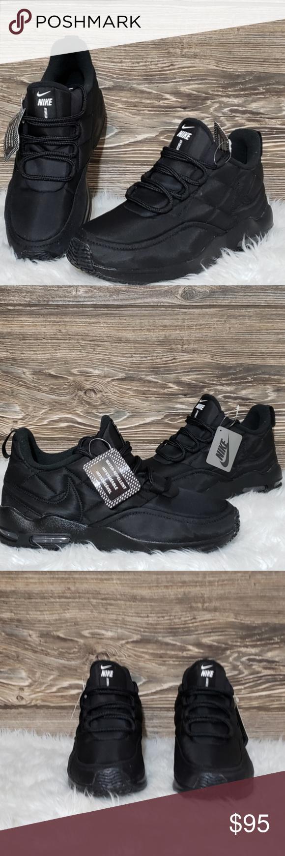 Black running shoes, Nike air max