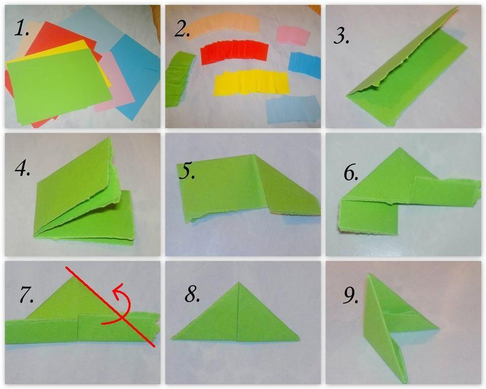 Оригами из модулей инструкция