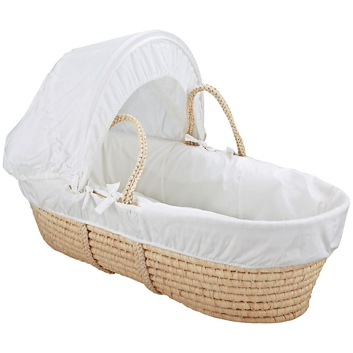 Buy John Lewis Sweet Dreams Moses Basket, White Online at johnlewis.com