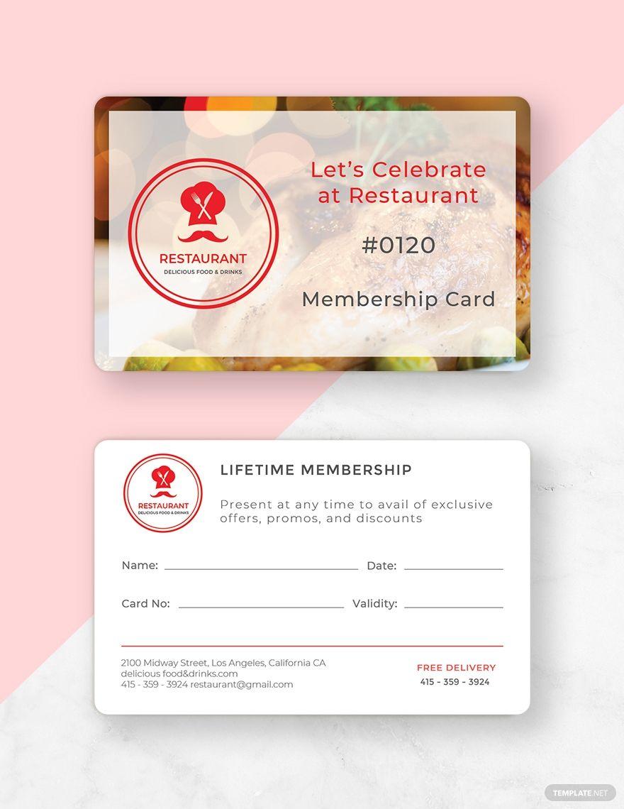 Free Simple Membership Card Template #AD, , #AFFILIATE, #Simple, #Free, #Membership, #Template, #Card