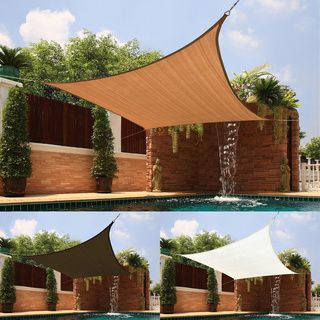 This Small Triangle Sail Sun Shade Is Suitable For Covering Patios
