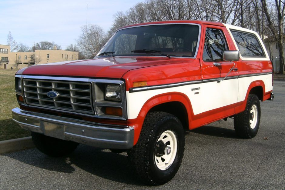 1985 Ford Bronco Xlt 4x4 In 2020 Ford Bronco Bronco Ford