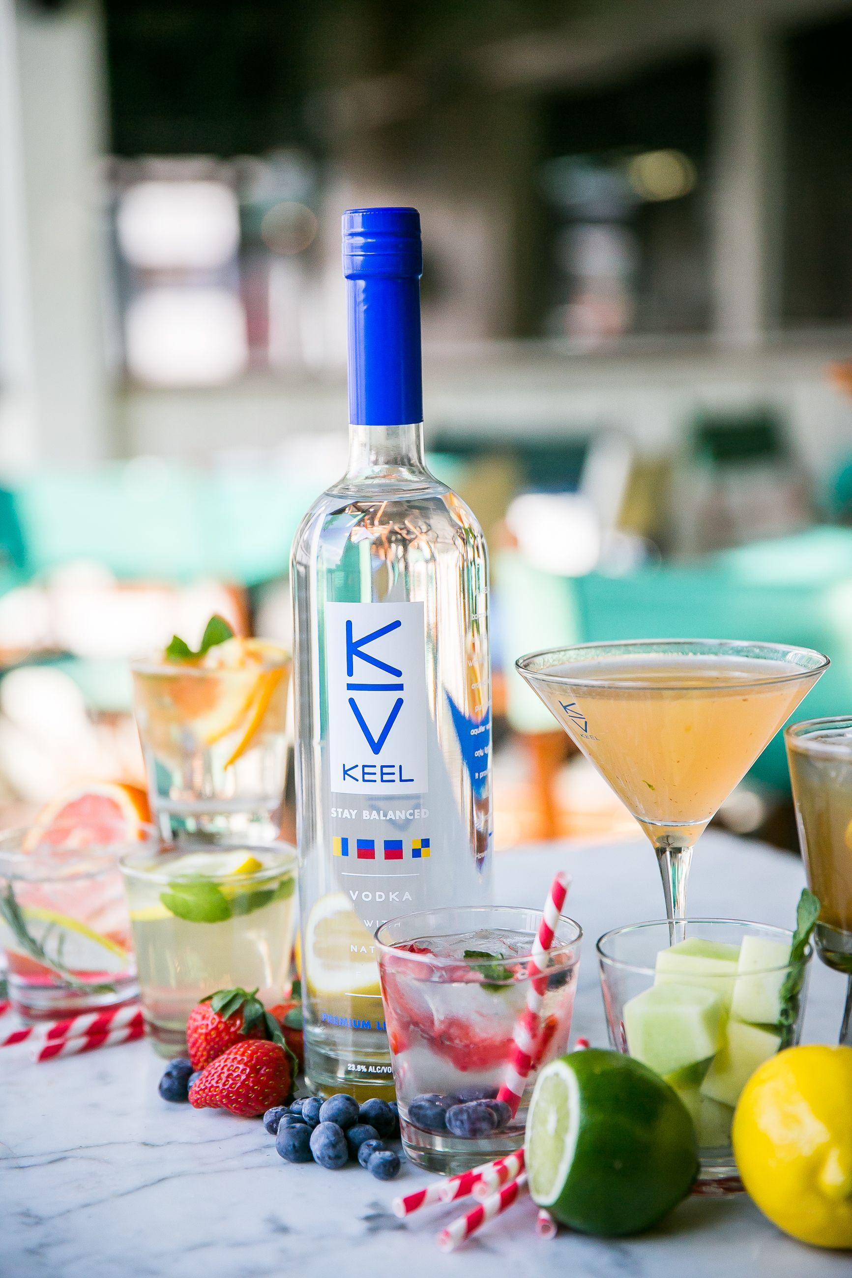 KEEL Vodka: The lightest spirit on the market  58 Calories
