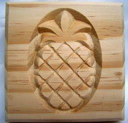 """Medium Pineapple Rosette-3-1/2"""""""