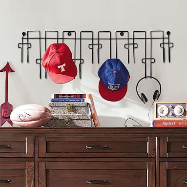 Wire Hat Rack Wall Shelf Decor Hat Rack Decorative Storage