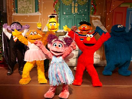 A Sesame Street Christmas Carol.A Sesame Street Christmas Show At Sesame Place A Very