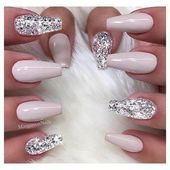 55 Acryl Coffin Nails Designs Ideen  Beste Trend Mode  french tip nails  Honorable BLog 55 Acryl Coffin Nails Designs Ideen  Beste Trend Mode  french tip nails  Honorable...