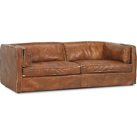 Sofa Echtleder Braun Live Pinterest Sofa Leather Sofa Und Couch