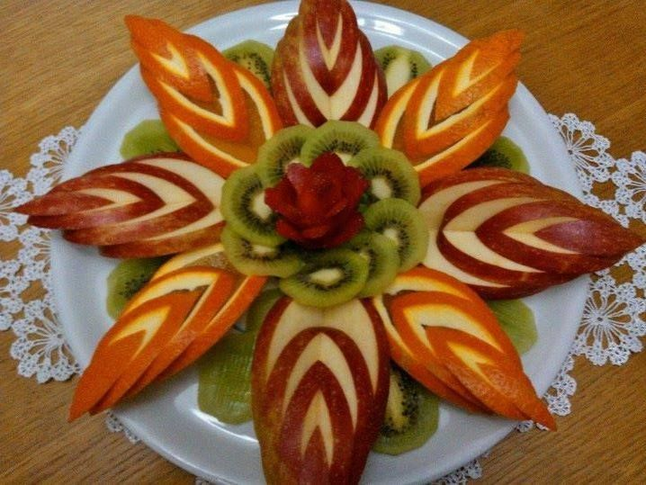 8 carved fruit salad kat ban pinterest salad and food for Decoration salade