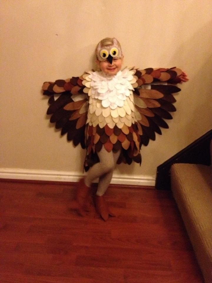 Childrens fancy dress owl costume disfrases - Disfraces de buhos ...