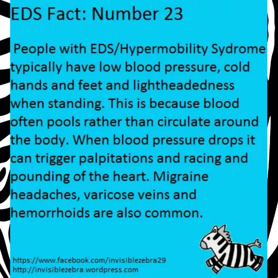 EDS = Every Day Strong! Elhers danlos syndrome, Ehlers