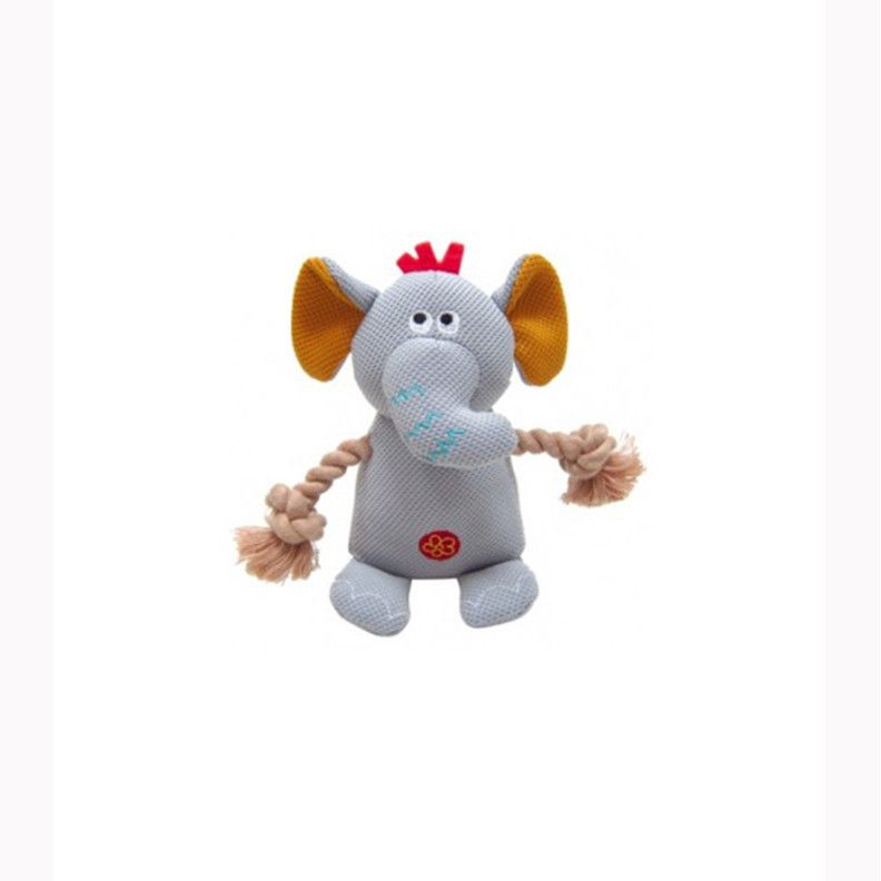 Pet Brands Elephant Rope Toy 4 99 Pets Dog Toys Elephant