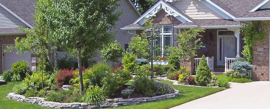 Front Yard Landscaping Ideas Iowa : Iowa city landscaping green forever