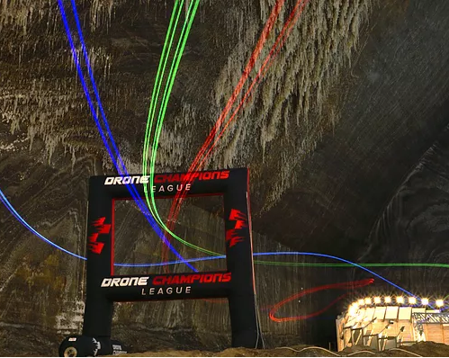 Europe's Drone Racing Scene is becoming really quite spectacular, with race  tracks in unique venues such as 'Salina Turda' where Racers can fly through  racetracks inside the Majestic Caves!