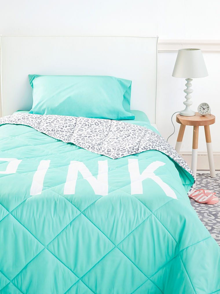 Bed In A Bag In Quot Mint Grey Leopard Quot Pink Victoria S