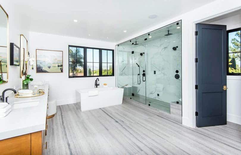 best material for bathroom flooring  cheap bathroom