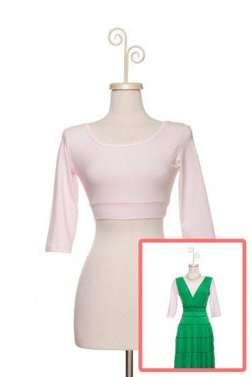 Type 1 3/4 Sleeve HALFTEE in Pink - $27.95