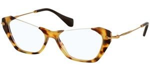 5d8a7f649c267 Óculos de grau Miu Miu 04OV Havana