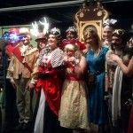 The cast of Desert Rose Theatre's #steampunk Alice in Wonderland