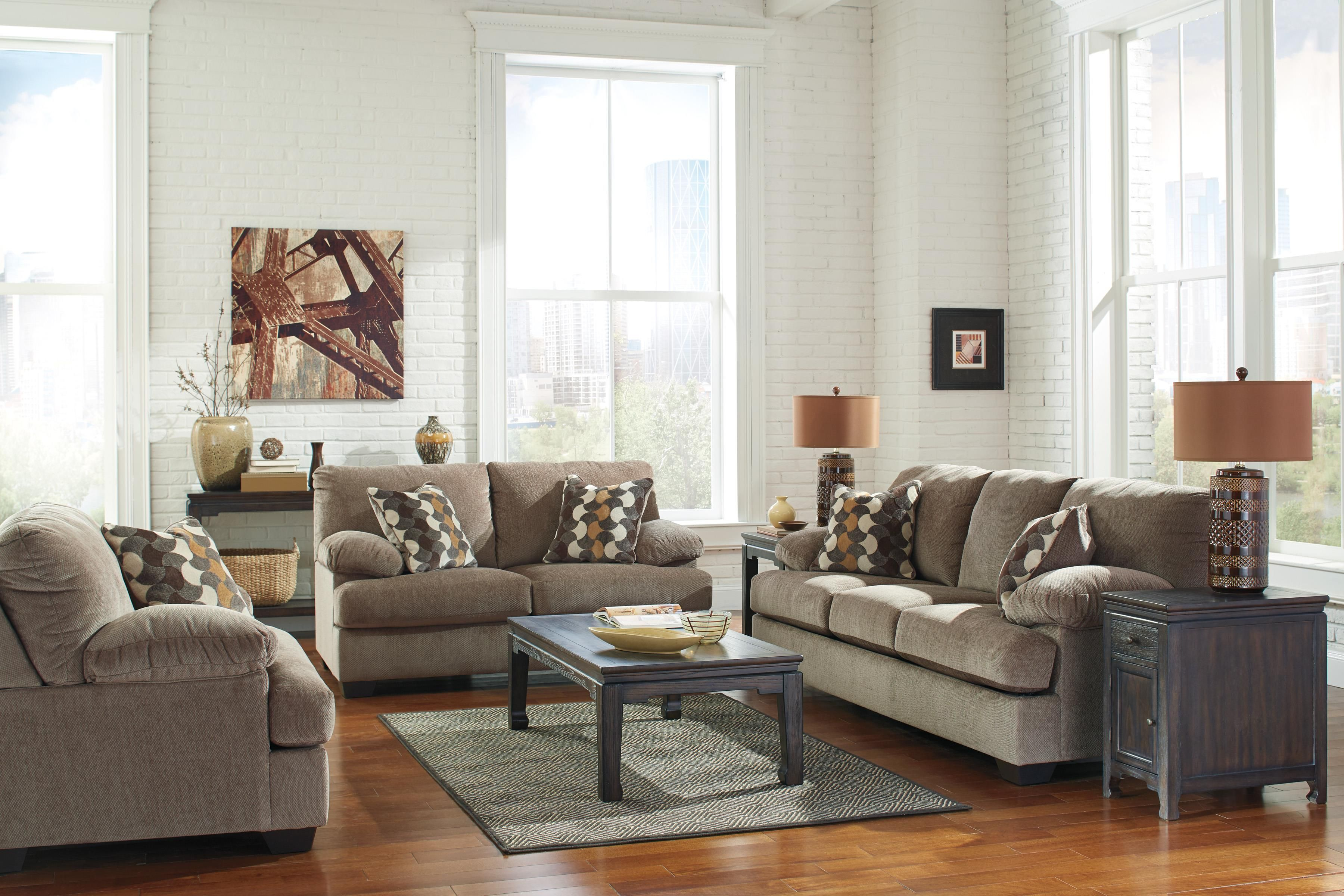 Kenzel Stationary Living Room Group By Benchcraft