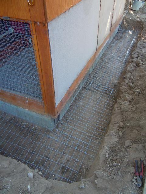 Predator Proof Chicken Run Chicken Coop Chicken Diy Building A Chicken Coop