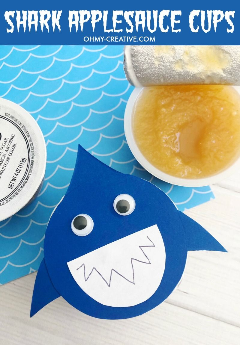 Shark Crafts And Shark Party Ideas | Shark Week - Oh My Creative