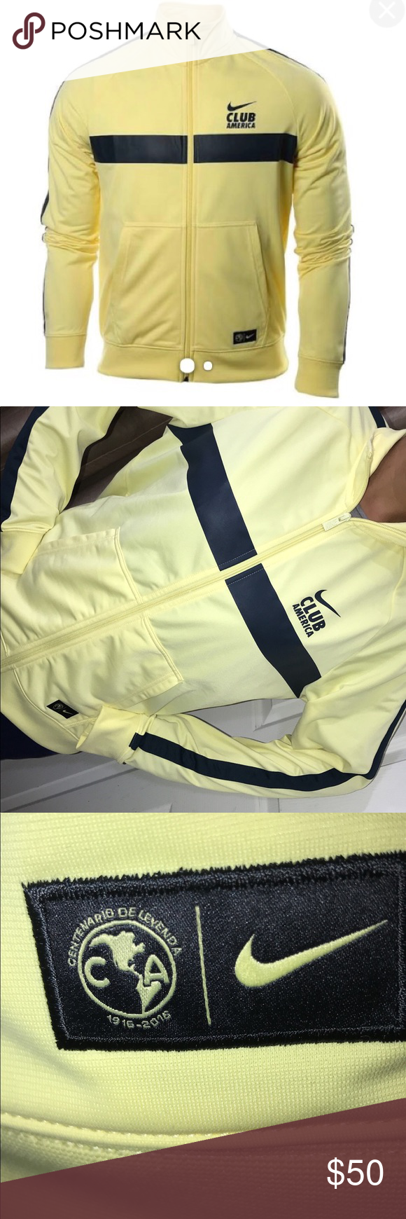 937205739d3 Club America Nike jacket Nike original club America Jacket Size L Worn once  at most Can be used for men or women Nike Jackets & Coats Lightweight &  Shirt ...