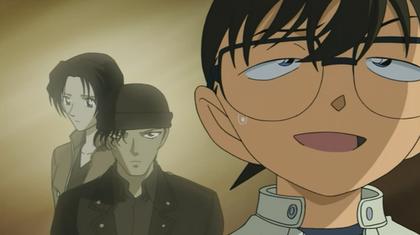 Conan thinks about the couple of Akemi Miyano and Shuichi Akai