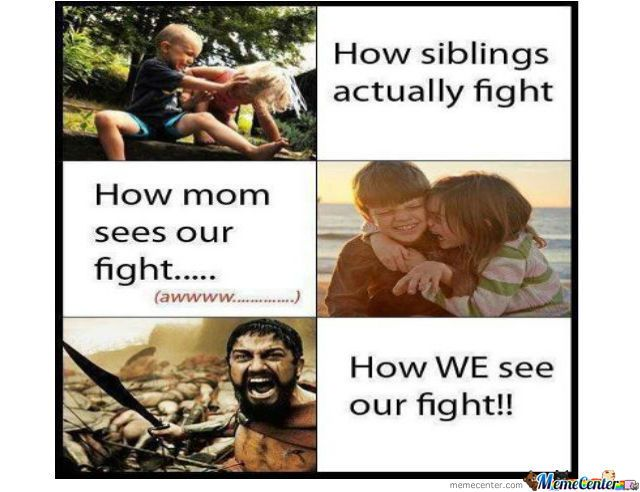 Family Fighting Quotes: Fighting With Your Siblings
