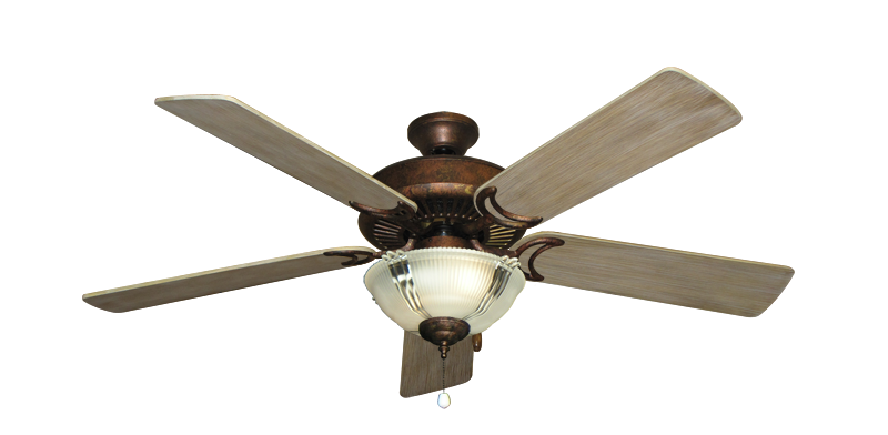 Riviera Burnished Copper Ceiling Fan With 52 Quot Distressed