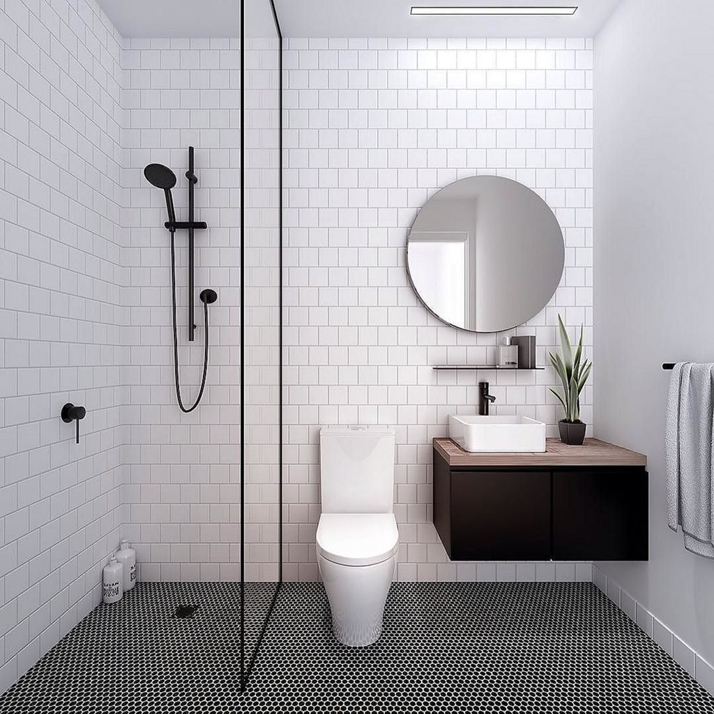 34 Gorgeous Minimalist Small Bathroom Design And Decor Ideas Bathroom Design Small Modern Modern Style Bathroom Modern Bathroom Design New latest bathroom design
