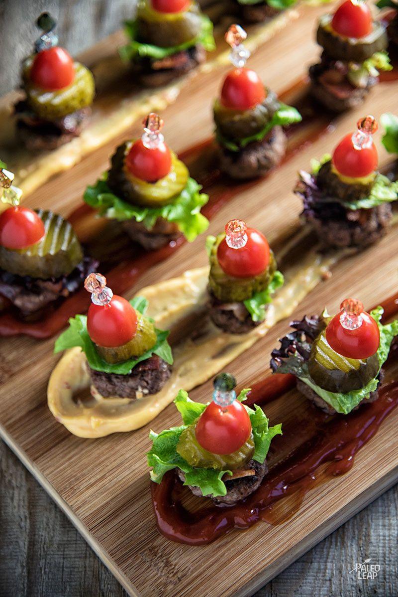 Mini Hamburger Bites | Recipe | Paleo Low FODMAP Recipes ...