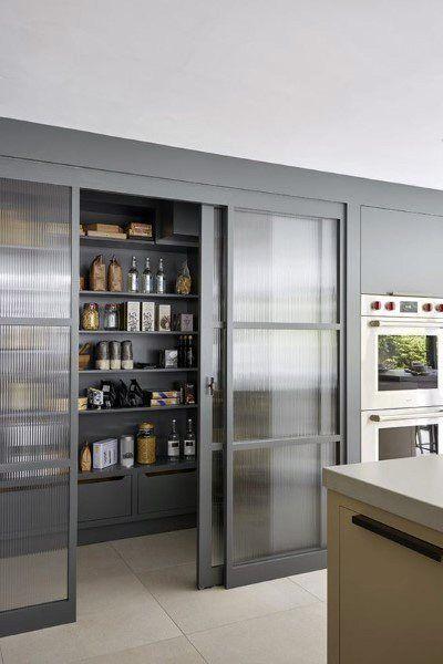Top 70 Best Kitchen Pantry Ideas - Organized Storage Designs