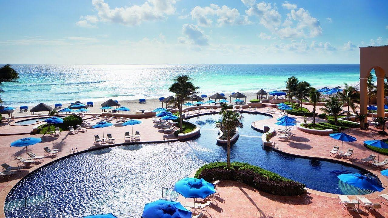 The Ritz Carlton Cancun Mexico Best 5 Star Beachfront Hotel For Hone Mexico Hotels Cancun Trip Beachfront Hotels