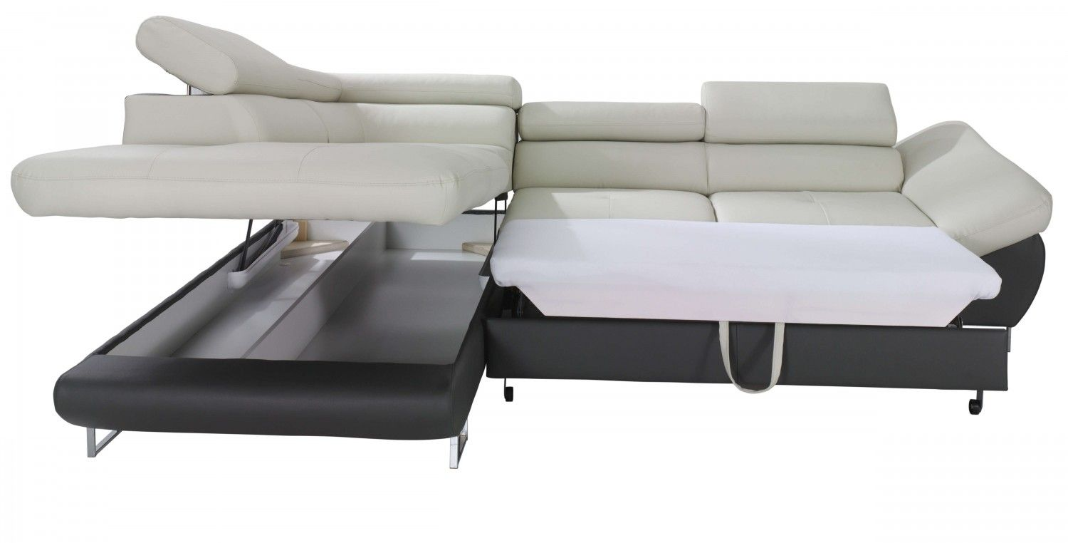Fabio Sectional Sofa Sleeper with Storage | Creative ...