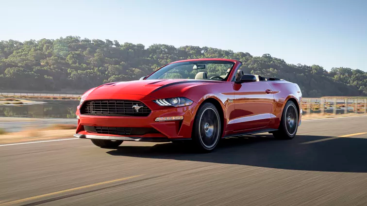 Ford Mustang Mach E Electric Suv Everything We Know Ford Mustang Ecoboost Mustang Ecoboost Ford Mustang