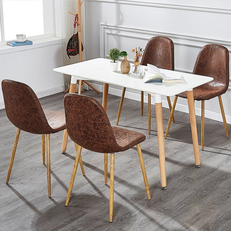 Wrought Studio Annice Upholstered Dining Chair Wayfair