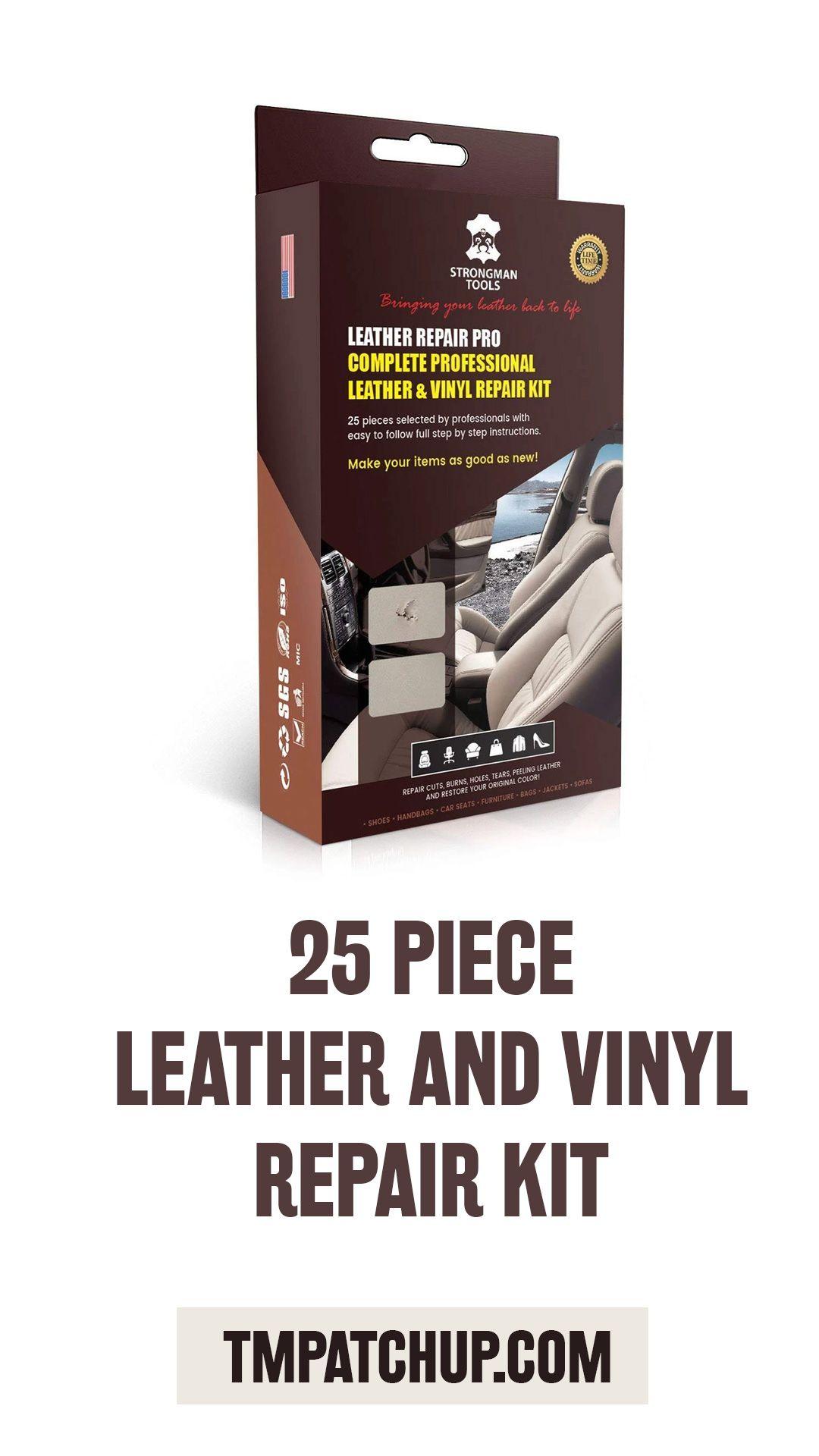 Professional Leather Repair : professional, leather, repair, STRONGMAN, Tools, Piece, Professional, Leather, Vinyl, Repair, Heat,, Drying,, Simple, Instructions,, Match, Color,, Seats,, Sofas,, Bags,…, Repair,, Adhesive,