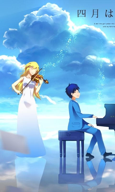 Your Lie In April Cool Anime Guys Anime Anime wallpaper your lie in april