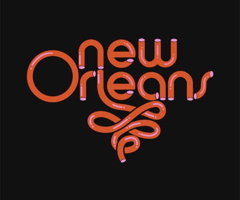New Orleans Modern Graphic Design Graphic Design