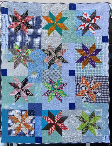 New year's star quilt