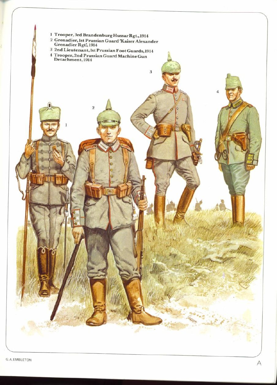 The German Army 1914 To 1918 German Army World War One World War I