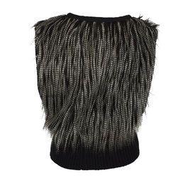 Fur vest from Uldahl