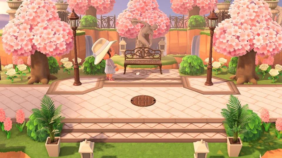 Those Cherry Blossom Trees Make My Island Seem So Ethereal Animalcrossingnewhor In 2021 Animal Crossing Qr Animal Crossing Asian Ideas