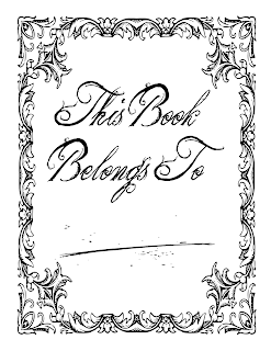 This Book Belongs To Book of Shadows Free Printable