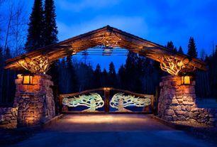 Ranch Driveway Entrance